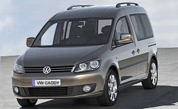 Buchen  Volkswagen Caddy 5+2 Pax or similar